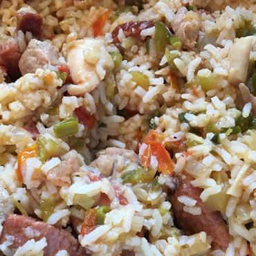 Jambalaya with Captain Mike's Seasoning